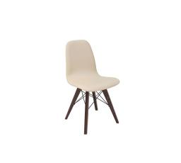 Židle ULTRA (TX1088) béžová/dub wenge hnědý
