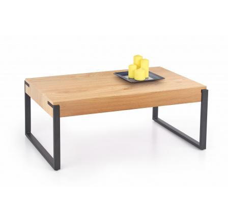 Konferenční stůl CAPRI Zlatý Dub/Černá