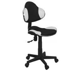 Dětská židle Q-G2 černá/bílá