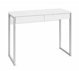 Psací stůl Felix 122 bílý lesk