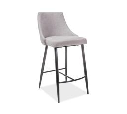 Barová židle NOBEL H-1 šedá