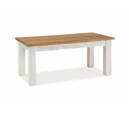 Konferenční stůl POPRAD /ořech +bílá
