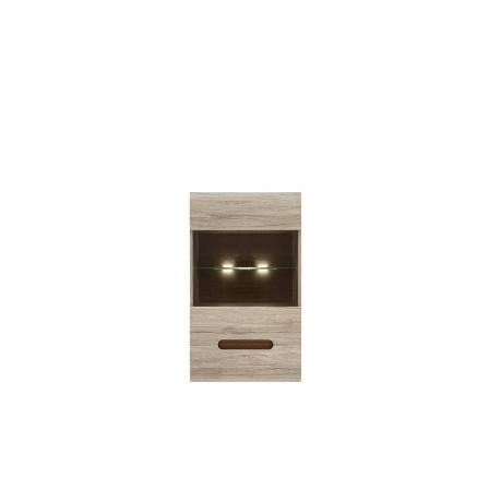 AZTECA TRIO SFW1W/10/6 dub san remo (včetně lišty wenge magia a oboustranné lišty bílý lesk/černý lesk)