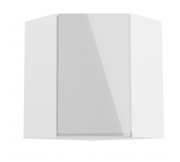Kuchyňská horní skřínka - ASPEN G60N, bílý lesk