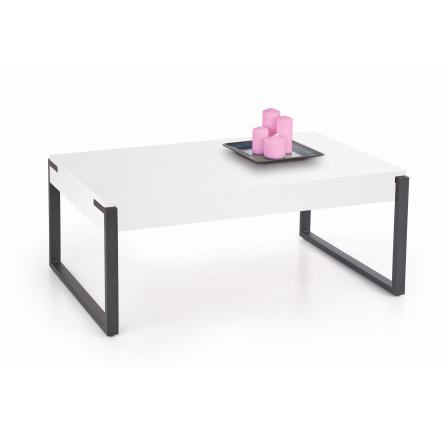Konferenční stůl CAPRI Bílá/Černá