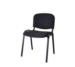 Konferenční stohovatelná židle ISO, černá