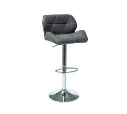 Barová židle C-122 - tm.šedá