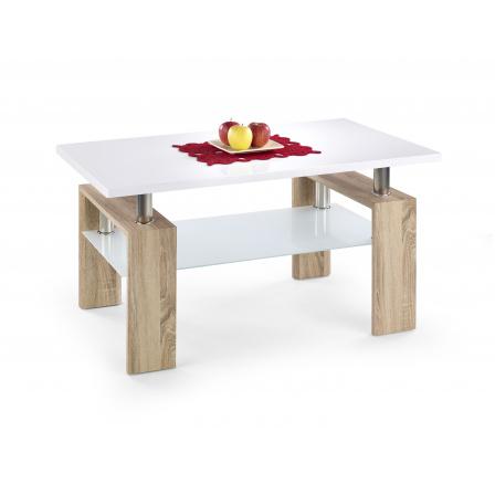 Konferenční stůl DIANA H MIX Dub Sonoma/Bílá