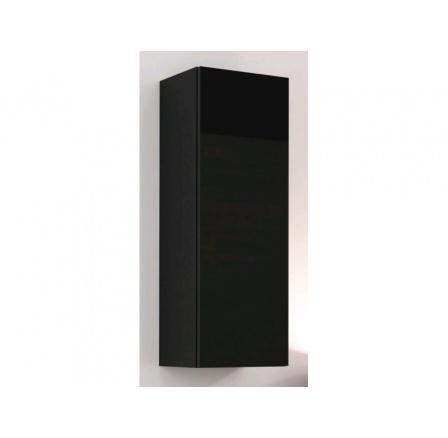 Vitrína VIGO 90 plná - černá
