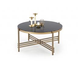Konferenční stůl ISMENA Černá/Zlatá