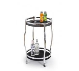 Barový stůl BAR-8, Černý