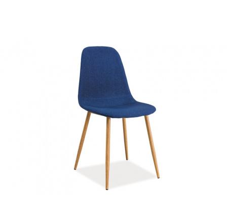 Jídelní židle FOX modrá (granát)
