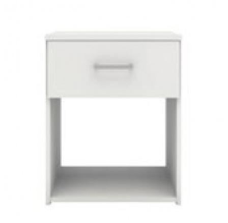 Noční stolek Sid 1S bílá