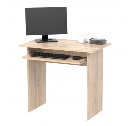 TWISTER - počítačový stůl (TWIST) dub sonoma (MD) (K150)
