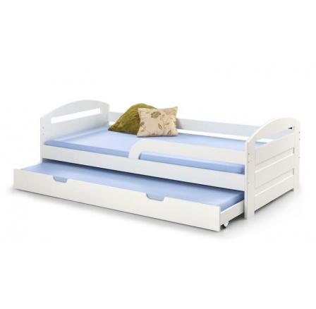 Dětská postel NATALIE 2 Bílá, 200x90 cm