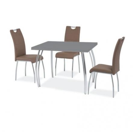 Jídelní stůl SK-2, šedý