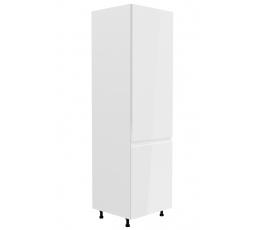 Kuchyňská dolní skřínka - ASPEN D60ZL (P/L), bílý lesk
