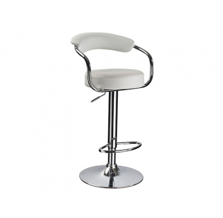 Barová židle Krokus C-231 bílá