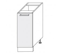 PLATINUM - dolní skříňka  30cm D1D/30