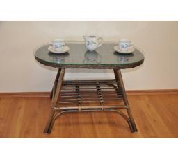 Ratanový stolek FABION oválný