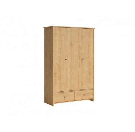 Šatní skříň PORTO SZF3D2S dub burlington