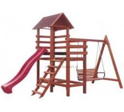 Zahradní dětské hřiště  DAISY Teak