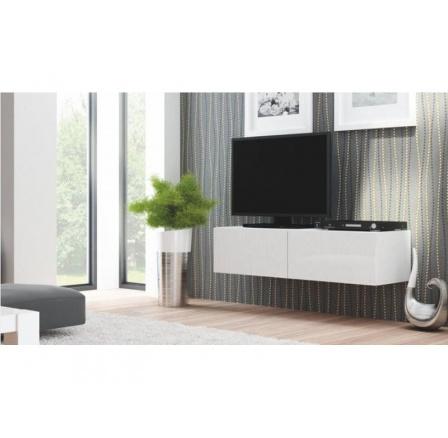 TV komoda LIVO RTV-160W - bílá