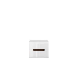 AZTECA TRIO KOM2S/4/5 bílá/bílý lesk  (včetně lišty wenge magia a oboustranné lišty bílý lesk/černý lesk)
