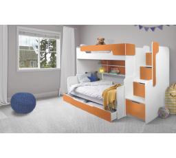 Patrová postel Harry 3  oranžová