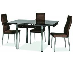 Jídelní stůl GD-082, hnědý