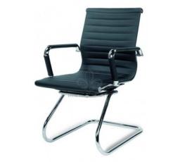 Kancelářská židle - PRESTIGE SKID Černá