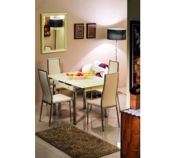 Jídelní stůl GD-082 krém