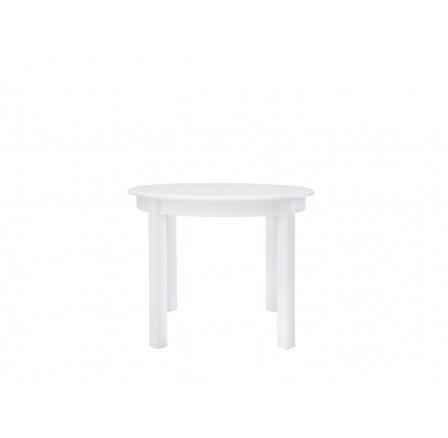 Stůl ROLESLAW II bílá (kulatý)   (TX057)
