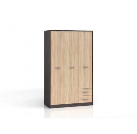 Šatní skříň NEPO SZF3D2S