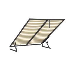 ERGO SPACE 160x200 - kovový rám s lamelami - sada pro vytvoření ÚP do čalouněných postelí Anadia, Casola, Molisa (FL10)