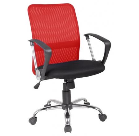 Kancelářské křeslo Q-078 Červené