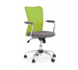 Dětská židle ANDY šedá+ zelená