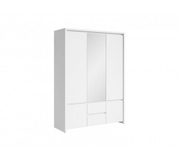 Šatní skříň KASPIAN SZF5D2S Bílá