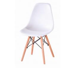Jídelní židle Enzo bílá