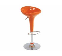 A-148 -Židle barová- oranžová (KROA148LPOM) (S) - (K150-Z)