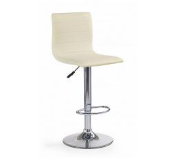 Barová židle H-21, Krémová