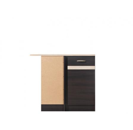 Kuchyně Junona Line, spodní rohová skříňka DNW/100/82L, wenge/wenge