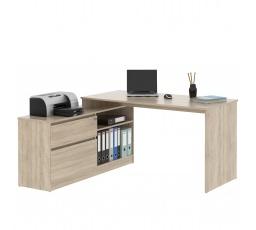 GEEP 01  -počítačový stůl monoblok (GP01)- dub sonoma (MD) (K150)