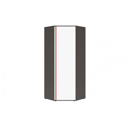 Rohová šatní skříň GRAPHIC (S343) SZFN1D/B