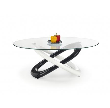 Konferenční stůl GOBI Černý/Bílý