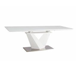 Jídelní stůl ALARAS III 160, bílý
