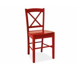 Jídelní židle CD-56 červená