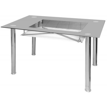 Jídelní stůl B 175, šedý