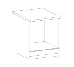 ROYAL  - dolní skříňka 60cm D60ZK
