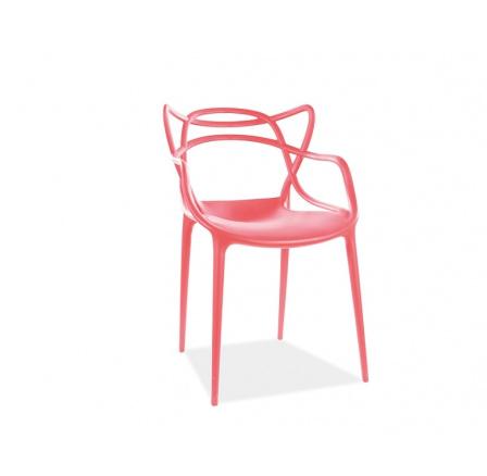 Jídelní židle TOBY červená